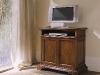 Mod.501 - Porta tv in noce con vano a giorno